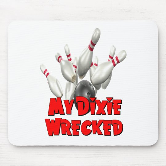 My Dixie Wrecked Bowling Mouse Pad