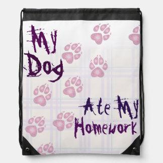 My doggie ate my homework