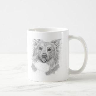 My dog by Disa Pabon Classic White Coffee Mug