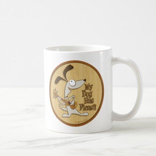 My Dog Has Fleas/Heart Uke Coffee Mug