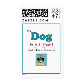 My Dog is All That! Postage