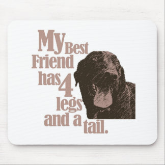 My Dog is my Best Friend Mouse Pad