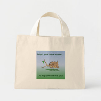 My Dog is Smart Canvas Bag