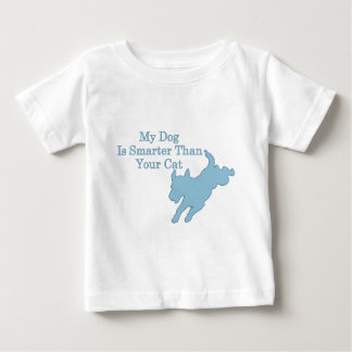 My Dog is Smarter than Your Cat Baby T-Shirt