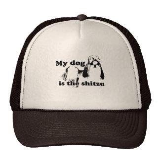 MY DOG IS THE SHITZU TRUCKER HAT