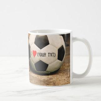 my dog love soccer and I love my dog Coffee Mug