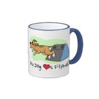 My Dog Loves Flyball Mug