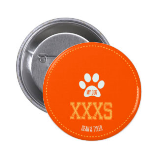 My Dog Pinback Buttons