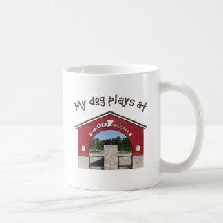 My dog plays at Woof Pac Park Coffee Mug