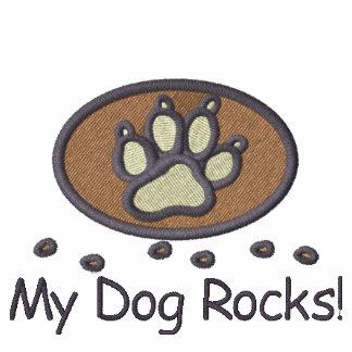 My Dog Rocks Embroidery on Shirt
