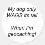 My Dog Round Sticker