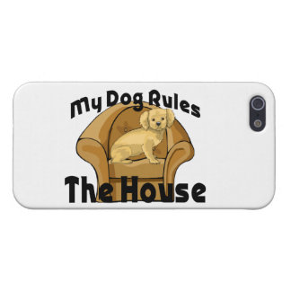 My Dog Rules The House iPhone SE/5/5s Case