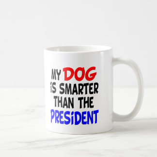 My Dog Smarter Than President Coffee Mug