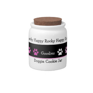 My Dog Treat Cookie Jar Candy Jar