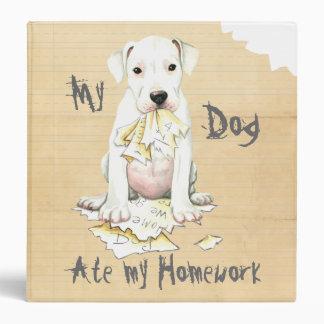 My Dogo Ate My Homework Binder