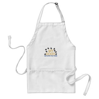 My Dogs Are Cuter Adult Apron