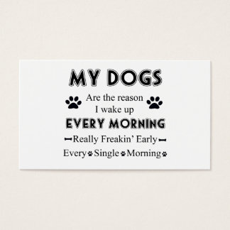 My Dogs Business Card