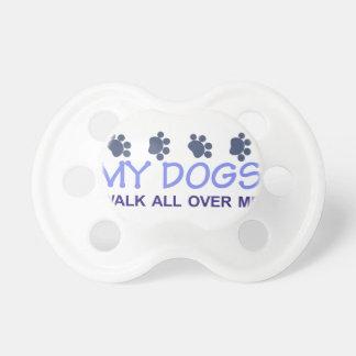 My Dogs Walk Pacifier