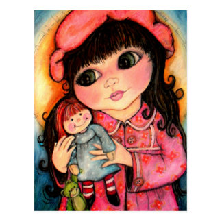 My Dolly and Me! Best Friends Forever Postcard