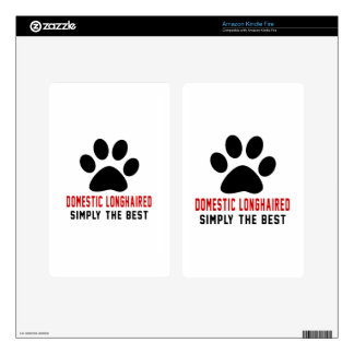 My Domestic longhaired Simply The Best Decals For Kindle Fire