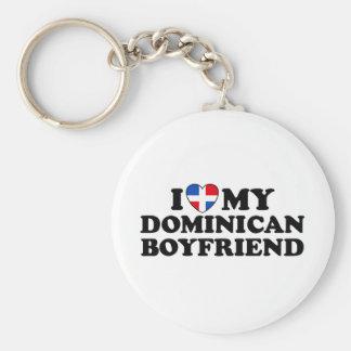 My Dominican Boyfriend Keychain