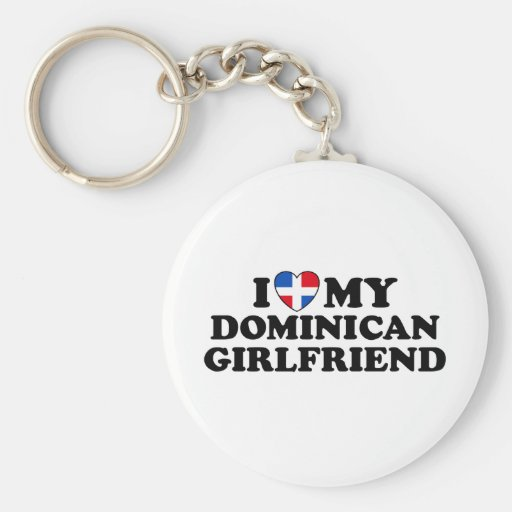 My Dominican Girlfriend Keychain