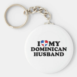 My Dominican Husband Keychain