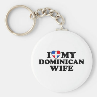 My Dominican Wife Keychain