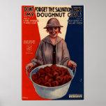 My Doughnut Girl Poster