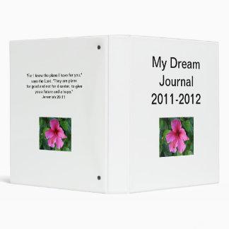 My Dream Journal Binder