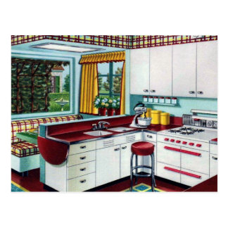 My Dream Kitchen Postcard
