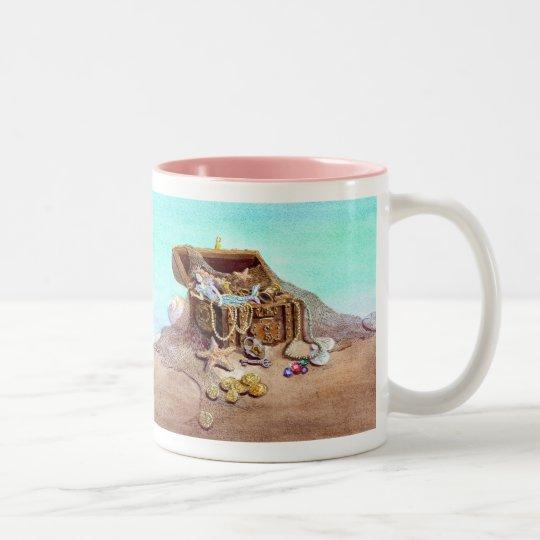 My Dreamy Mermaid Two-Tone Coffee Mug