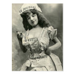 My Dress is the Newspaper Postcard