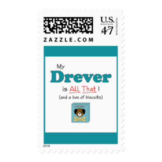My Drever is All That! Postage