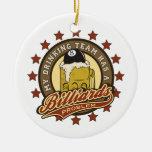 My Drinking Team has a Billiards Problem Christmas Ornaments