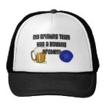 My Drinking Team Has A Bowling Problem Hats