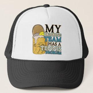 My Drinking Team has a Tennis Problem Trucker Hat