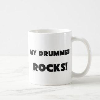 MY Drummer ROCKS! Mugs
