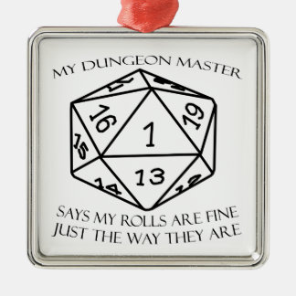 My Dungeon Master Metal Ornament