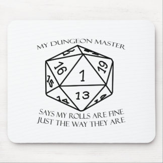 My Dungeon Master Mouse Pad
