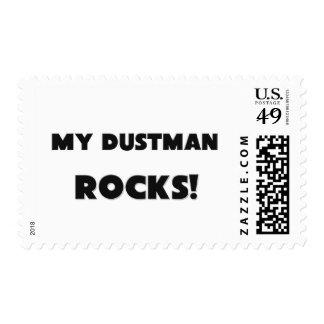 MY Dustman ROCKS! Postage Stamps