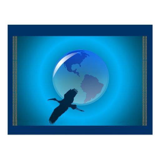 My Earth Postcard