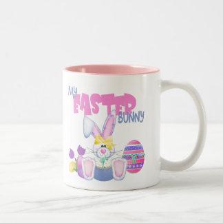 My Easter Bunny Easter Gift Two-Tone Coffee Mug