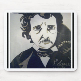 my edgar alan poe mouse pad