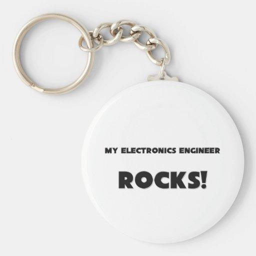 MY Electronics Engineer ROCKS! Keychain