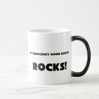 MY Emergency Room Doctor ROCKS! 11 Oz Magic Heat Color-Changing Coffee Mug