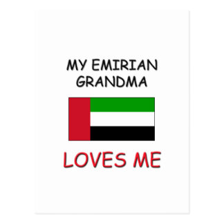 My Emirian Grandma Loves Me Postcard