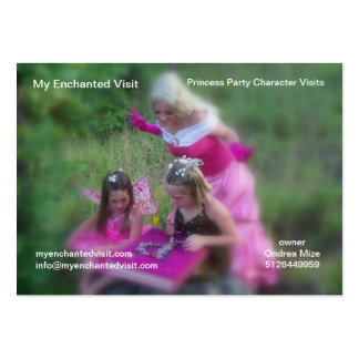 My Enchanted Visit Large Business Card