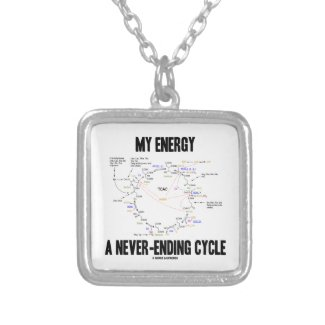 My Energy A Never-Ending Cycle (Krebs Cycle) Personalized Necklace