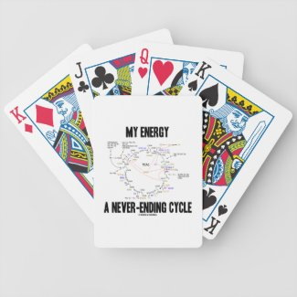 My Energy A Never-Ending Cycle (Krebs Cycle) Bicycle Poker Deck